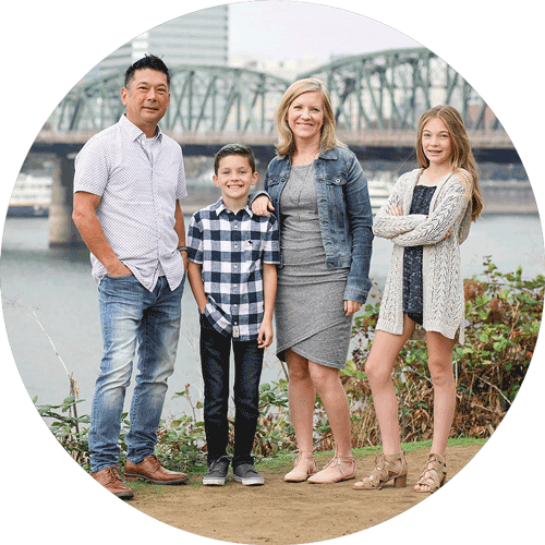 Colleen Ruhlin and Family